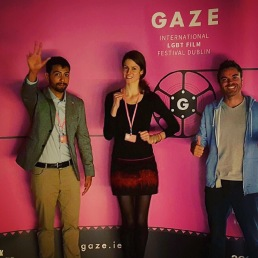 Getting crazy at GAZE Festival in Dublin